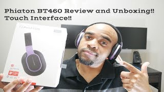 Headphones with Touch Controls! Phiaton BT460 Review and Unboxing!
