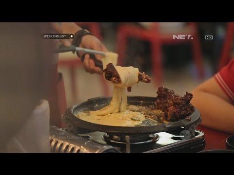 Video Weekend List - Rolling Cheese dan Korean Food - Ojju