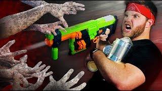 NERF Zombie Apocalypse Challenge!