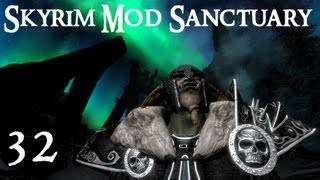 Skyrim Mod Sanctuary 32 : Reapers Dark Tower, Skeleton Demonic Horse, Smart Souls and Witchplate