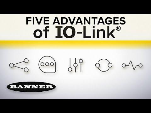 Five Advantages of IO-Link