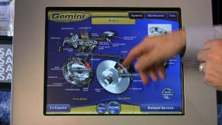 "Goodyear Gemini customer Kiosk - ""Brake system"""
