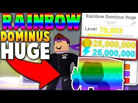 OWNER GIVES *FREE* RAINBOW DOMINUS HUGE PRANK! - Roblox Pet Simulator  (Update) - NikTac