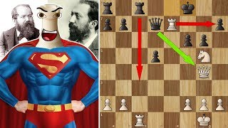 Bravest Rook in chess history - Steinitz's Immortal (Battle of Hastings)