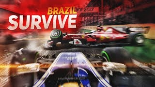 20 ONLINE NOOBS TRY TO SURVIVE BRAZIL