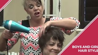 A Line Hairstyles And Womens Haircut Over 50