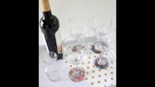 Personalized Photo Wine Glass