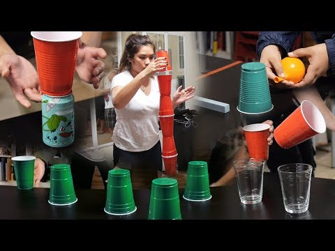 8 Fun and Cheap Party Games with Cups