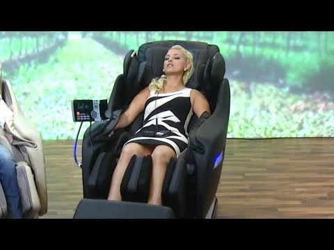 newgen medicals Ganzkörper-Massagesessel GMS-200.bt (beige)