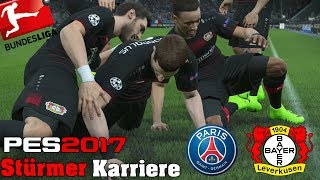 Traumtor per Hacke!?😱 Bundesliga Stürmer Karriere - Pro Evolution Soccer 2017 -22