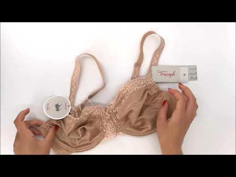 Podprsenka nevyztužená Ladyform Soft W hladce tělová 6106 - Triumph