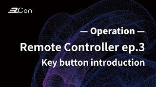 EzCon | Remote Controller | TX-RC-1 | EP3 Key button introduction |
