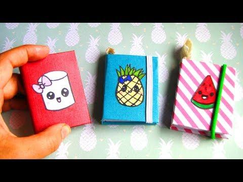 DIY MINI NOTEBOOKS | Makkelijke Kawaii Notitieboekjes How to