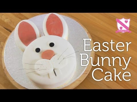 Video Easter Bunny Cake Decoration