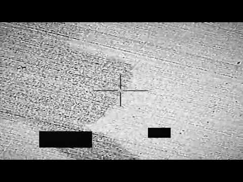 شاهد.. فيديو لتدمير التحالف مسيرتين مفخختين من نوع صماد