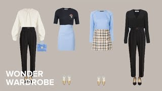 Petite Body Type: Shopping Tips And Capsule Wardrobe Example.