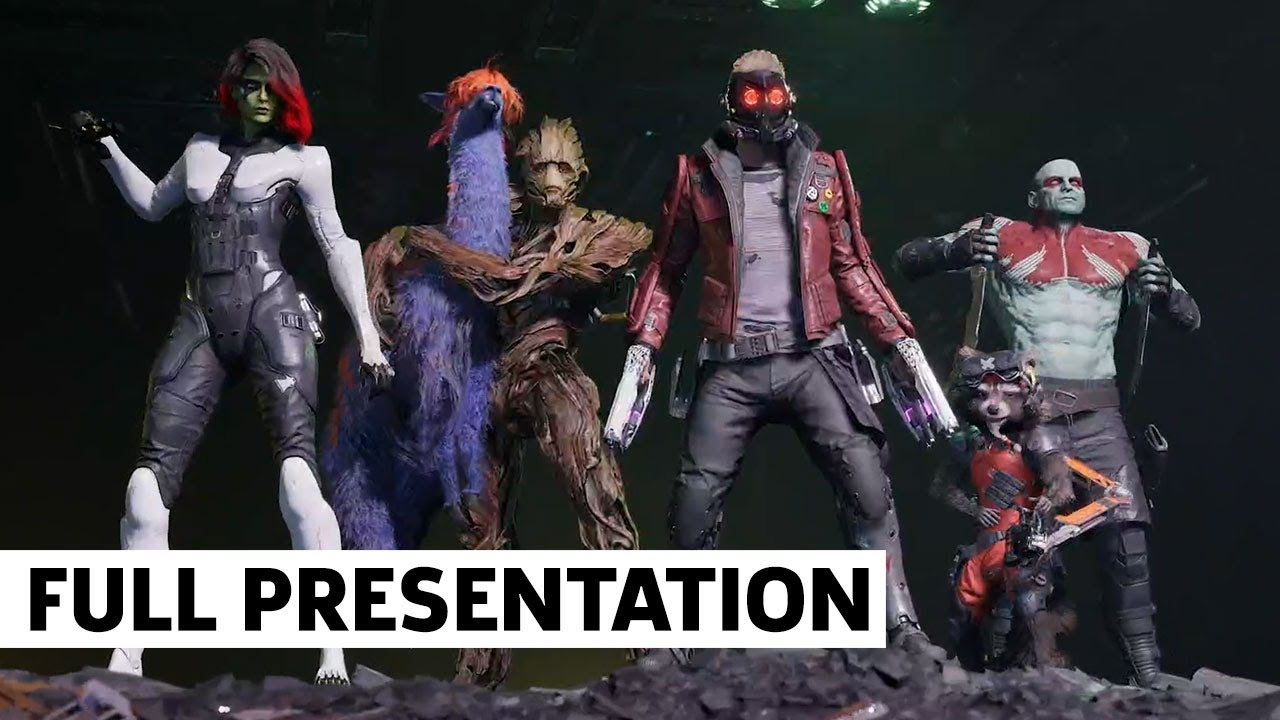 Guardians of the Galaxy Square Enix E3 2021 Showcase