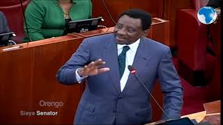 Orengo debating in Swahili