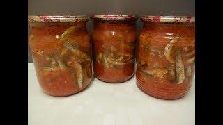 Рыба с овощами на зиму. Рыбные консервы в домашних условиях БЕЗ АВТОКЛАВА!!!