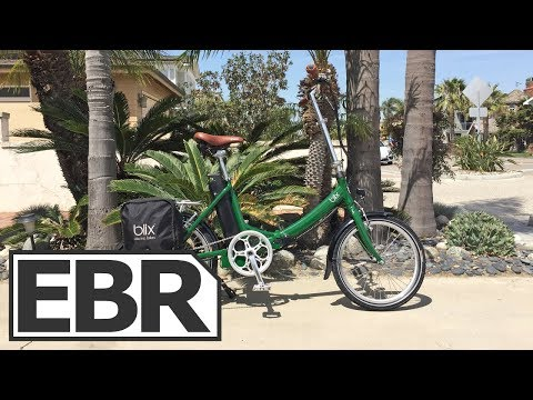 Blix Vika+ Video Review – $1.6k Quiet, Smooth, Elegant Folding Electric Bike, Three Colors