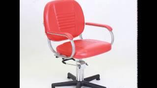 Парикмахерское кресло «Бриз» гидравлическое пятилучье хром от компании ФОРМУЛА САЛОНА - видео