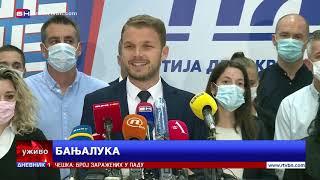 Draško Stanivuković i Jelena Trivić odgovorili na Dodikove prijetnje stanovnicima Banjaluke.
