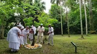 Dia Nacional da Umbanda: cerimônia religiosa acontece no Jardim Botânico