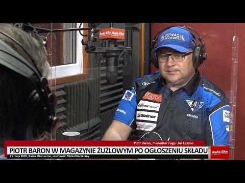Wideo1: Piotr Baron w Magazynie Żużlowym Radia Elka