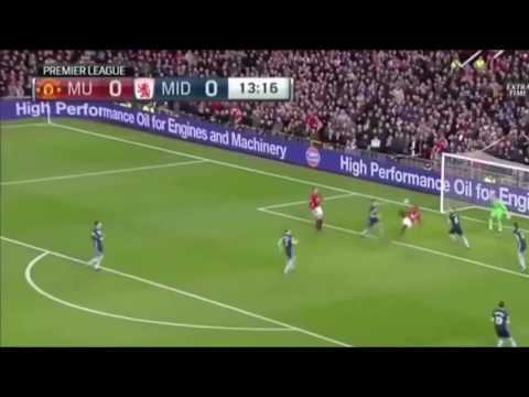 Manchester United 2-1 Middlesborough