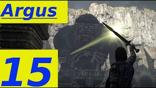 Shadow Of The Colossus Parte 15: BOSS ARGUS ! (HD Ita, PS4, No Commentary)