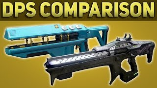 Merciless vs Linear Fusion Rifles Damage Comparison - Leviathan Raid Guide