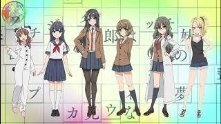 Ost Ending Seishun Buta Yarou wa Bunny Girl Senpai no Yume wo Minai Full Heroine