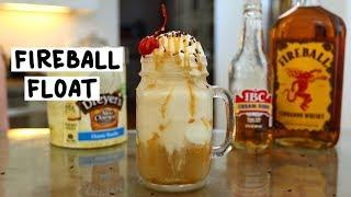 Fireball Whiskey Float