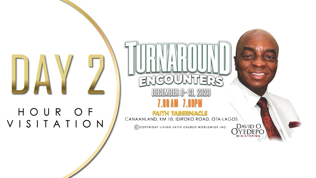 Shiloh 2020 Day 2 -Hour of Visitation – Turnaround Encounters – 9 December 2020