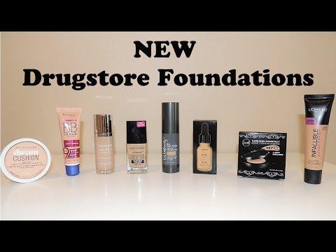 Best & Worst NEW Drugstore Foundations