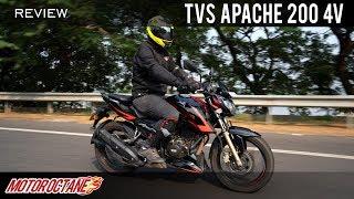 2019 TVS Apache RTR 200 4V Race Edition 2.0 ABS Review | Hindi | MotorOctane