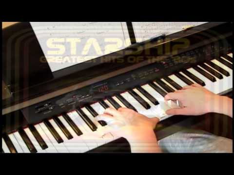 Nothings Gonna Stop Us Now - Starship - Piano Mp3