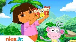 'Musical Melodies' 🎤  Music Video W/ Dora The Explorer  & Bubble Guppies | Nick Jr. Sings 🎶