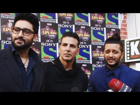 Housefull 3 CAST on 'The Kapil Sharma Show' - Funny videos