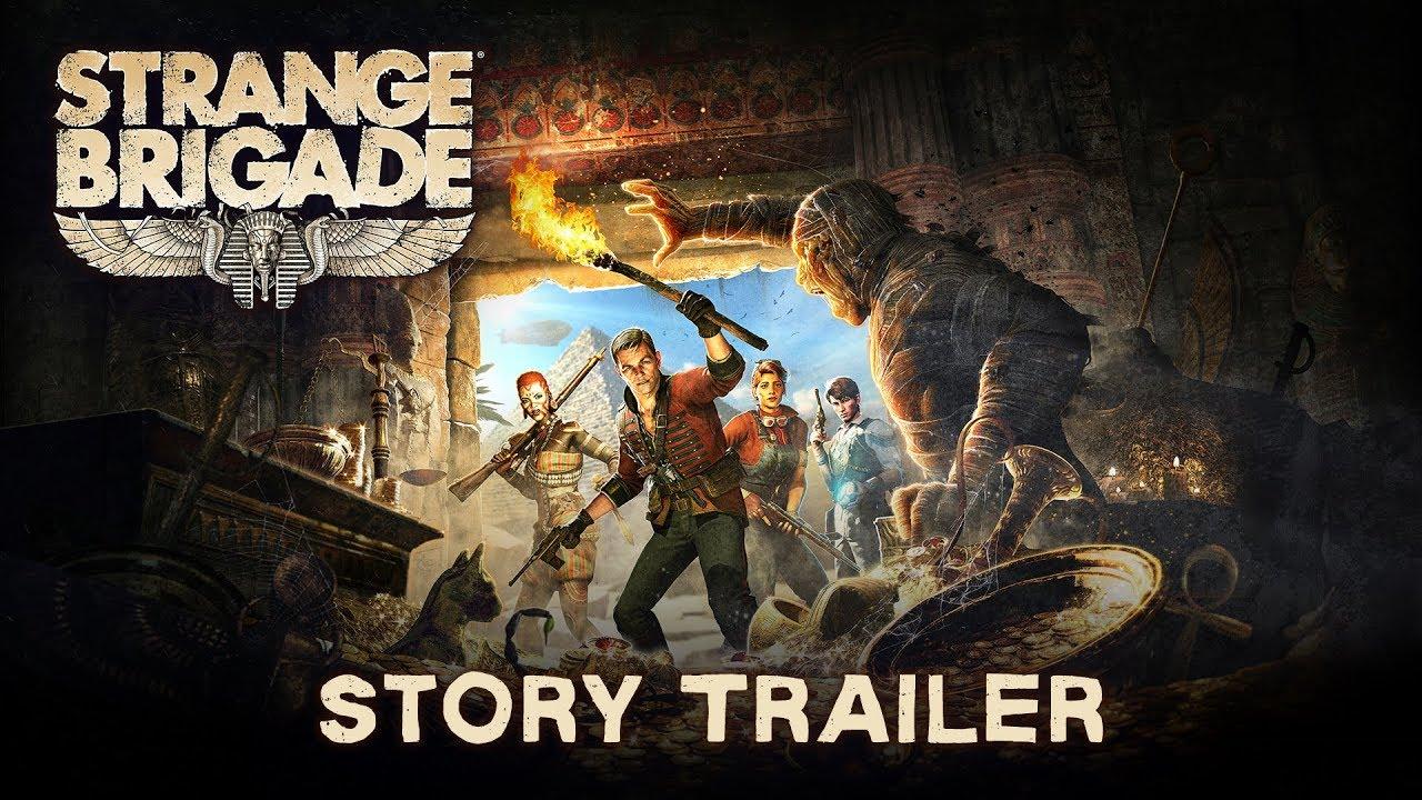 Trailer di Strange Brigade