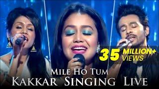 Mile Ho Tum Humko | Kakkars Singing Live | Sonu Kakkar, Tony Kakkar, Neha Kakkar