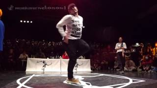 SHUN & KYOKA vs YASS & Yusei FINAL HIPHOP SIDE / JUSTE DEBOUT JAPAN 2017