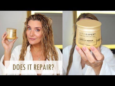 L'OREAL ABSOLUT REPAIR HAIR MASK #TreatmentTuesdays