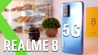 Realme 8 5G ANÁLISIS - El 5G es su principal arma y su BATERÍA lo que enamora