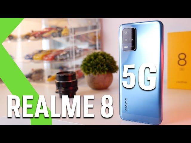 Realme 8 5G ANÁLISIS - El 5G es su principal arma y su BATERÍA lo que enamora