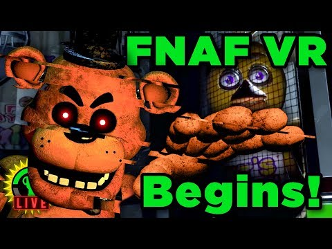 The Official FNAF VR Game Is Here! (FNAF VR: Help Wanted)