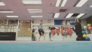 Intermediate Taekwondo 5 Combo Kick