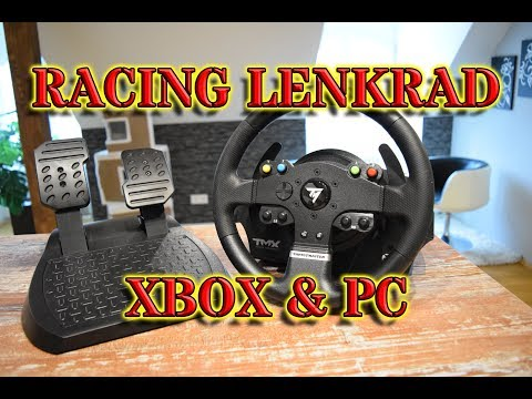 Thrustmaster TMX Test / Review  PC / Xbox One Lenkrad  - FFB Racing Wheel Vergleich auf Deutsch
