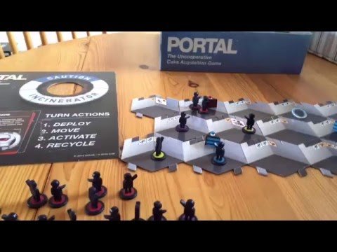 Portal: The Uncooperative Cake Acquisition Game Quick Look