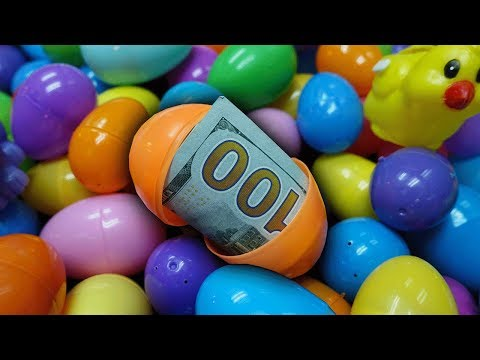 $1000 EASTER EGG CLAW MACHINE!!